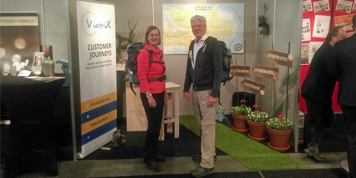 Ton Kemp en Ivonne Smit op FENEXPO 2017